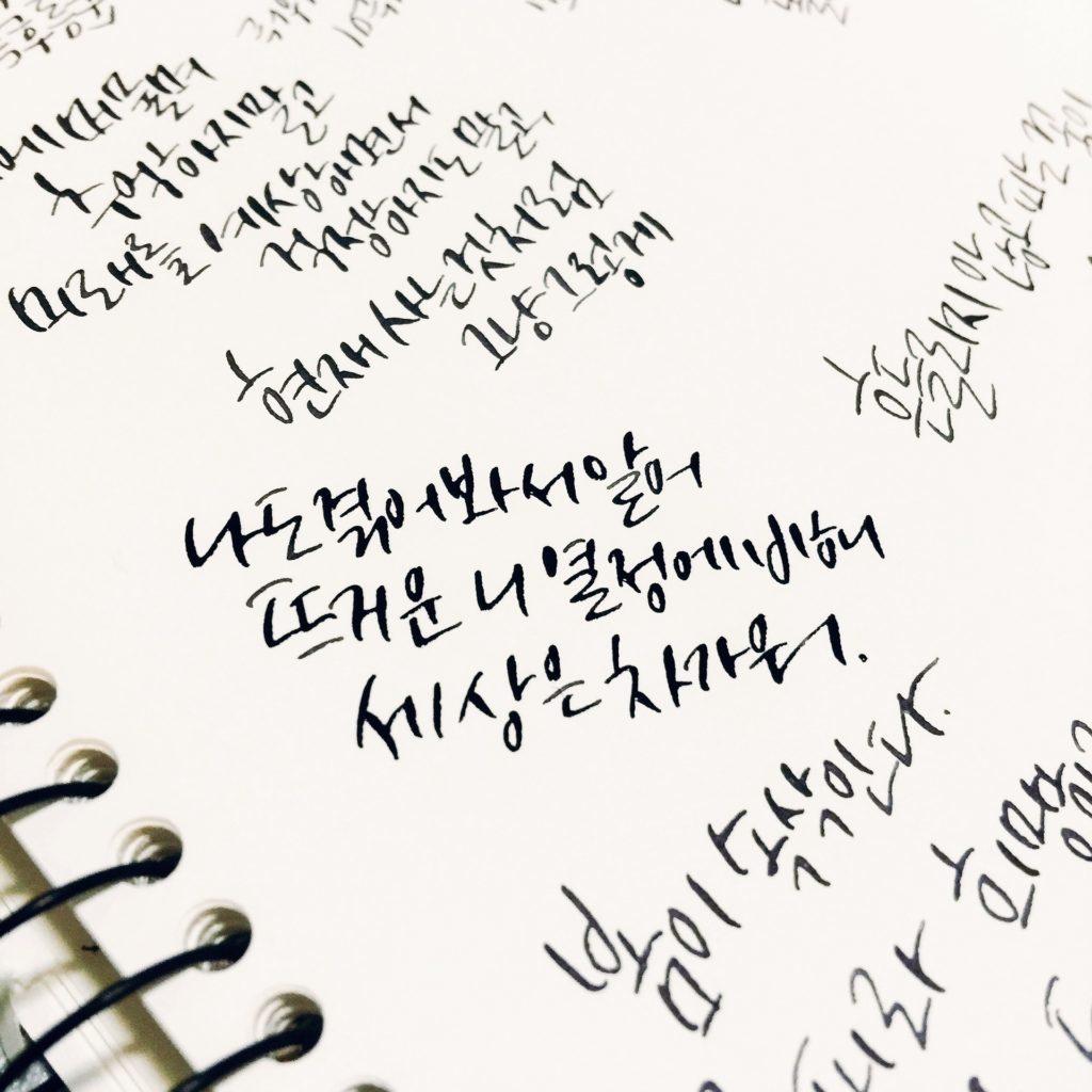Hangul - alfabet języka koreańskiego
